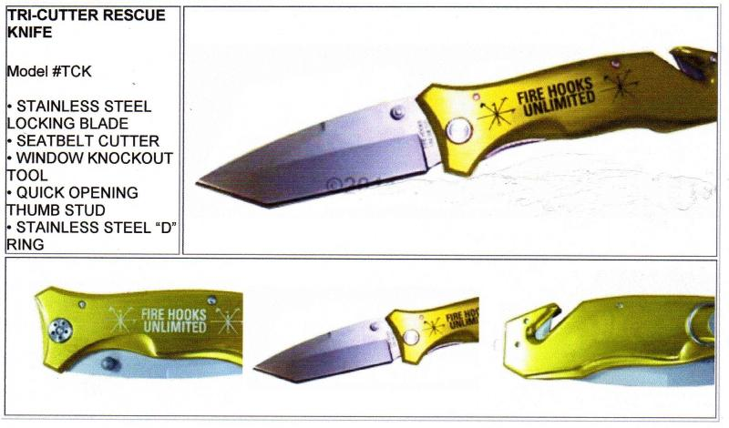 Tri-Cutter Rescue Knife